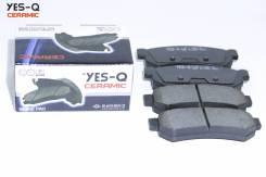 Колодка дискового тормоза зад. YES-Q Ceramic ESD9081