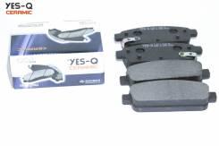 Колодка дискового тормоза зад. YES-Q Ceramic ESD9084