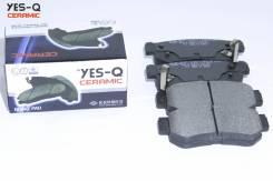 Колодка дискового тормоза зад. YES-Q Ceramic ESD7031