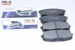 Колодка дискового тормоза перед. YES-Q Ceramic ESD8068