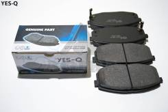 Колодка дискового тормоза перед. YES-Q Ceramic ESD8057