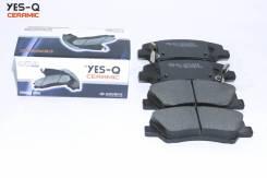 Колодка дискового тормоза перед. YES-Q Ceramic ESD7052