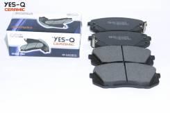 Колодка дискового тормоза перед. YES-Q Ceramic ESD8065