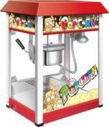 Аппарат для попкорна, разовая загрузка 230 г, цвет красный GASTRORAG HP-6B