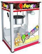 Аппарат для попкорна, разовая загрузка 230 г, цвет красный GASTRORAG HP-6A