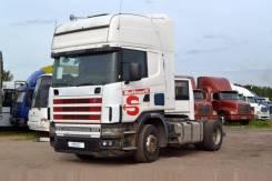 Scania R124. Седельный тягач Topline, 11 700куб. см., 12 000кг.