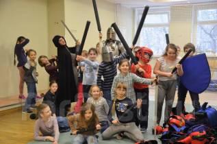 Рыцарский праздник для детей