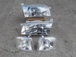 Фара. Toyota Sprinter Carib, AE111, AE111G, AE114G, AE115G Двигатели: 4AFE, 4AGE, 7AFE