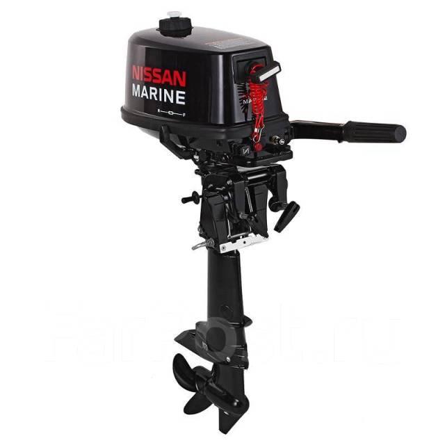 подвесной лодочный мотор nissan marine ns 5