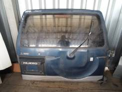 Дверь багажника. Mitsubishi Pajero, V24C, V24V, V24W, V24WG
