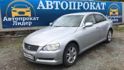 Toyota Mark X. Без водителя