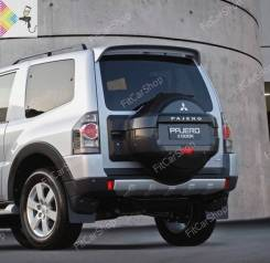 Спойлер багажника. Mitsubishi Pajero, V63W, V64W, V65W, V68W, V73W, V75W, V77W, V78W 4D56T, 4M41, 6G72, 6G74, 6G75