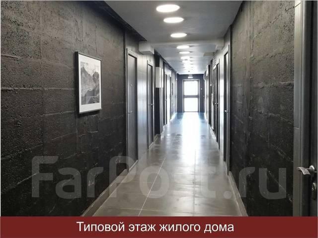 1-комнатная, улица Махалина 10. Центр, застройщик, 32кв.м. Подъезд внутри
