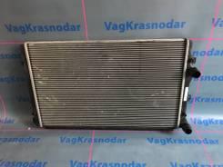 Радиатор охлаждения двигателя. Volkswagen: Passat, Jetta, Touran, Golf, Caddy, Eos, Scirocco, Tiguan, Beetle Seat Altea, 5P1, 5P5, 5P8 Seat Leon, 1P1...