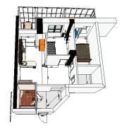 3D моделирование квартир и помещений от 3000 руб. до 5000 руб.