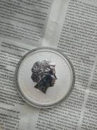 Монета silver 999 8 dollars (year of the mouse)