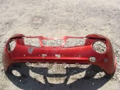 Ниссан Жук бампер передний Nissan Juke 10-14