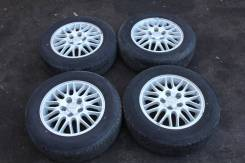 Штатные колеса Nissan c летней резиной bridgestone playz pz-x R15