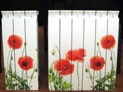 Фотопечать на радиаторах отопления (УФ печать). Под заказ
