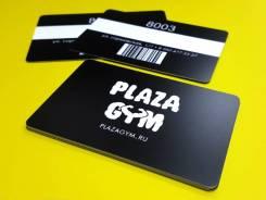 Печать пластиковых карточек. Тиснение, магнитные ленты, чипы