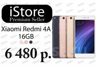 Xiaomi Redmi 4A. Новый, 16 Гб, Черный