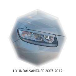 Накладка на фару. Hyundai Santa Fe, CM, DM, SM Двигатели: D4EA, D4EB, D4EBV, D4HA, D4HB, G4JP, G4JS, G4KE, G4KH, G6AU, G6BA, G6DB, G6DC, G6EA, L6BA, L...