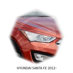 Накладка на фару. Hyundai Santa Fe, CM, DM, SM Двигатели: D4EA, D4EB, D4EBV, D4HA, D4HB, G4JP, G4JS, G4KE, G6AU, G6BA, G6DB, G6DC, G6EA, L6BA, L6EA