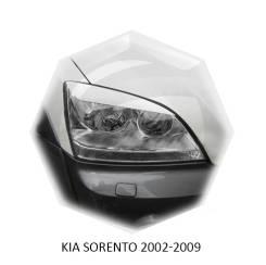 Накладка на фару. Kia Sorento, BL, XM Двигатели: D4CB, D4HA, D4HB, G4JS, G4KE, G4KJ, G6CU, G6DA, G6DB, G6DC, G6DH, L6EA
