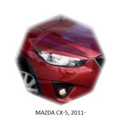 Накладка на фару. Mazda CX-5, KE, KE2AW, KE2FW, KE5AW, KE5FW, KEEAW, KEEFW, KF, KF2P, KF5P, KFEP Двигатели: PEVPS, PYRPS, PYVPS, PYVPTS, SHVPTS, SHY1