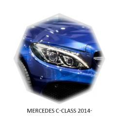 Накладка на фару. Mercedes-Benz C-Class, C205