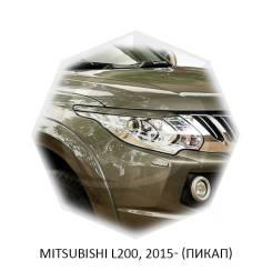 Накладка на фару. Mitsubishi L200, K74T, KB4T, KK/KL Двигатели: 4D56, 4D56HP, 4N15