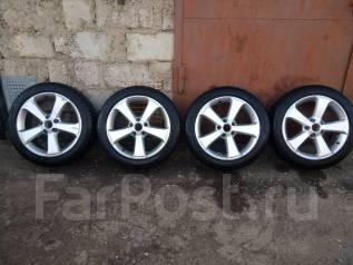 """Колеса Volkswagen R17 оригинал с резиной. 6.5x17"""" 5x112.00 ET39 ЦО 57,0мм."""