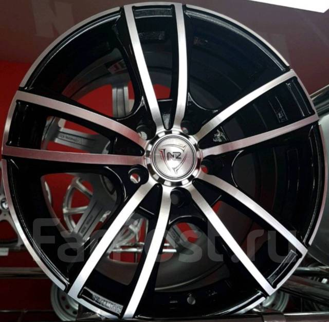 "NZ Wheels F-20. 7.0x16"", 4x100.00, ET35, ЦО 57,1 мм."