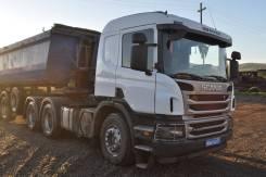 Scania P440. Тягач Scania p440 6x4 (бортовые редуктора) в наличии ! НДС, 12 740куб. см., 35 000кг.