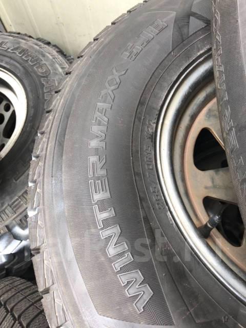 Dunlop Winter Maxx SJ8. Зимние, без шипов, 2013 год, 5%, 4 шт