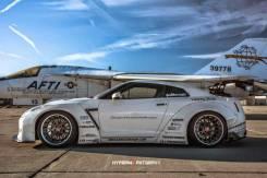 Обвес кузова аэродинамический. Nissan GT-R, R35 Suzuki Works. Под заказ