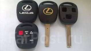 Корпус ключа. Lexus: IS300, RX330, RX350, RX450h, IS200, LS400, GX470, RX400h, ES330, GS350, GS430, GS300, LS430, GS400, ES300, LX470, RX300 Двигатели...