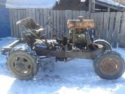 Самодельная модель. Самодельный тракторёнок, 6 л.с.