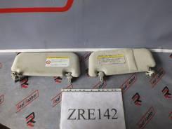 Козырек солнцезащитный. Toyota Corolla Axio, NZE141, NZE144, ZRE142, ZRE144 Toyota Corolla Fielder, NZE141, NZE141G, NZE144, NZE144G, ZRE142, ZRE142G...