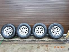 """Продам штатные колеса на ММС-Pajero V45 c новой резиной. 7.0x16"""" 6x139.70 ET10 ЦО 108,0мм."""