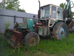 МТЗ 80. Продам трактор МТЗ-80 с ковшом и отвалом, 75 л.с.
