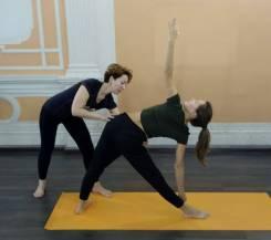 Индивидуальные занятия по йоге