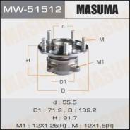 Ступичный узел Masuma rear Accord / CU1, CW1 (with ABS) MW-51512. Honda Accord, CU2 Honda Accord Tourer Honda Inspire, CP3 Двигатели: J35Z2, K24Z2, K2...