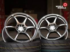 "Advan Racing RGIII. 8.5/9.5x18"", 5x100.00, 5x114.30, ET35/30, ЦО 73,1 мм."