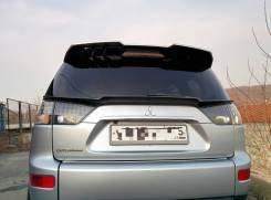 Спойлер багажника. Peugeot 4008 Citroen C-Crosser Mitsubishi Outlander, CW4W, CW5W, CW6W, CW7W, CW8W 4B11, 4B12, 6B31, 4HK4HN, 4HN4HK, 4N14, BSY. Под...