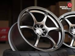 "Advan Racing RGIII. 9.5x18"", 5x100.00, 5x114.30, ET30, ЦО 73,1 мм."