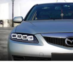 Фары (Тюнинг Комплект) Mazda Atenza / Mazda 6 2002 - 2007 .