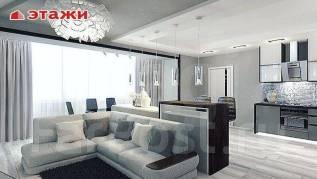 3-комнатная, улица Черняховского 9. 64, 71 микрорайоны, агентство, 100кв.м. Интерьер