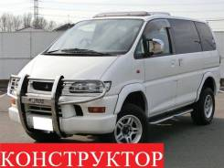 Mitsubishi Delica. автомат, 4wd, 3.0, бензин, 96 002тыс. км, б/п, нет птс. Под заказ