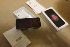 Apple iPhone SE. Б/у, 32 Гб, Черный, 3G, 4G LTE, Защищенный